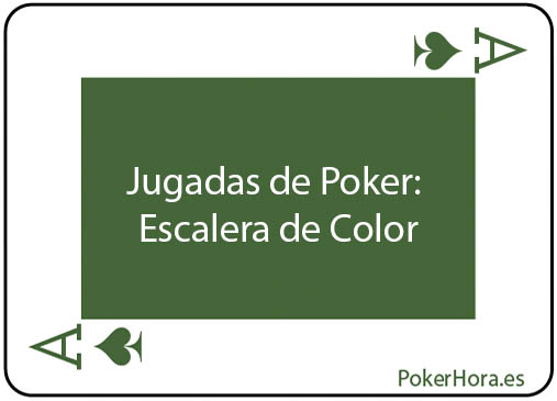Que gana en poker escalera o full